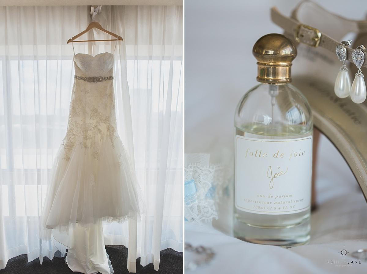 mermaid beaded wedding gown joie perfume