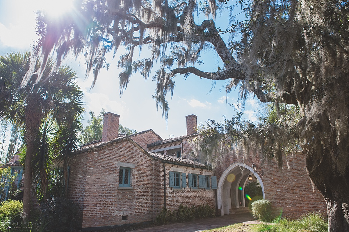Casa Feliz | Lilac Garden Party Wedding Casa Feliz brick building chateau