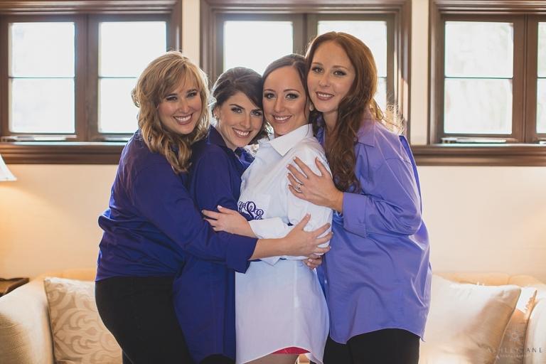 Casa Feliz | Lilac Garden Party Wedding bride