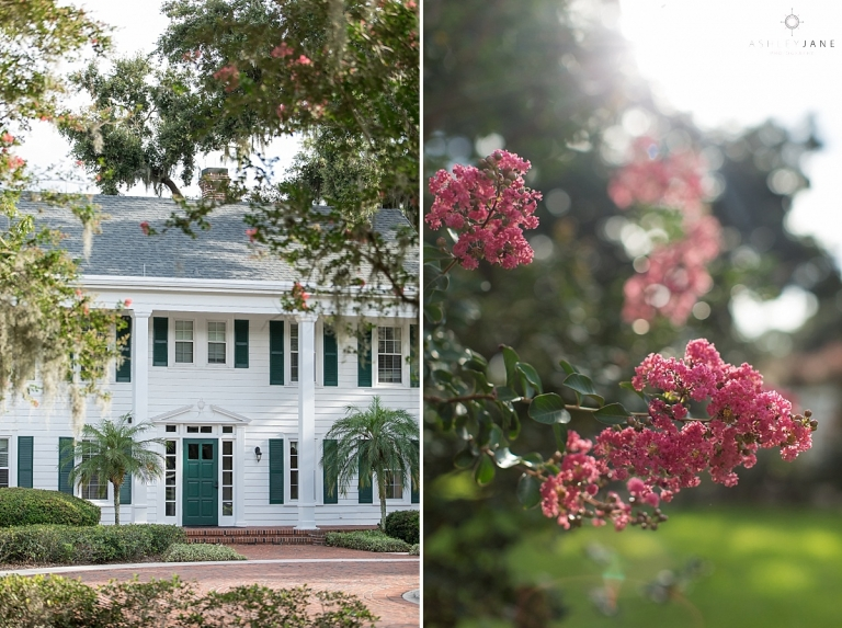 Cypress Grove Estate House shot by Orlando Wedding Photographer.