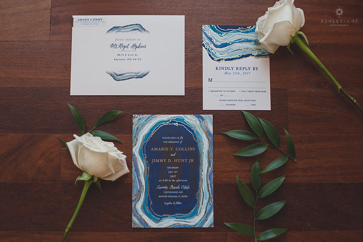 Elegant Gold & Ivory Luxmore Grande Estate Wedding shot by orlando wedding photographer